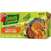 Medallones de quinoa GREEN CUISINE, caja 270 g