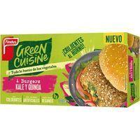 Burger kale-quinoa GREEN CUISINE, caja 300 g