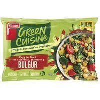 Veggie bowl burgur GREEN CUISINE, bolsa 350 g
