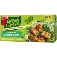 Varitas de espinaca-crema GREEN CUISINE, caja 284 g