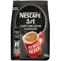 Café soluble 3en1 NESCAFÉ, paquete 170 g