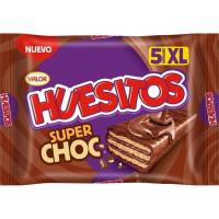 Chocolatina superchocolate HUESITOS, pack 5x48 g