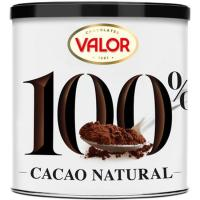 Cacao natural 100% VALOR, lata 250 g