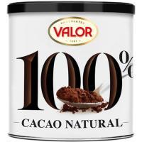 Cacao natural 100% VALOR, lata 250 g