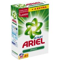 Detergente en polvo ARIEL maleta 40+4 dosis