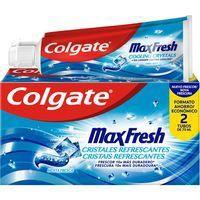 Dentífrico duplo COLGATE Max Fresh, pack 2x75 ml