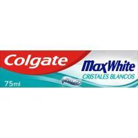 Dentífrico cristales blancos COLGATE  Max White, tubo 75 ml