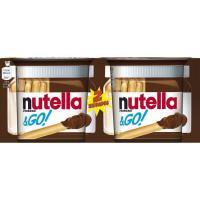 Cacao T2 NUTELLA&GO, caja 108 g