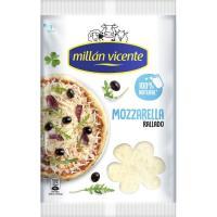 Queso rallado mozzarela MILLAN VICENTE, bolsa 150 g