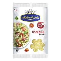 Queso rallado Emmental MILLAN VICENTE, bolsa 150 g