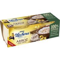 Arroz con leche LA LECHERA, pack 2x100 g