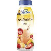 Lacteo líquido frutissimo fresa-piña LA LECHERA, botella 315 g