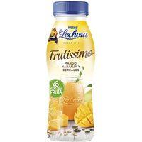 Bebible frutis. mango-piña-naranja-cereal LECHERA, botella 315 g
