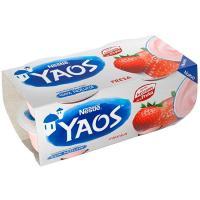Yogur griego de fresa YAOS, pack 4x110 g