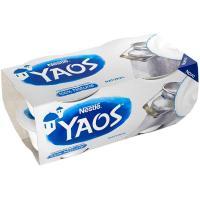 Yogur griego natural YAOS, pack 4x110 g