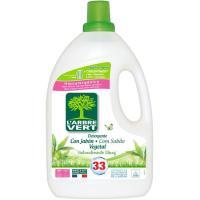 Detergente líquido vegetal L'AVERT, garrafa 33 dosis