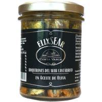 Anchoas del Cantábrico en a. de oliva COSTA VASCA, frasco 200 g