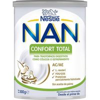 Leche en polvo confort total para lactantes NAN, lata 800 g