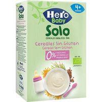 Papilla de cereales sin gluten ecológicos HERO, caja 220 g