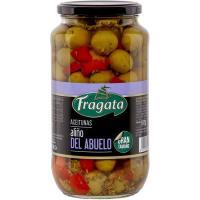 Aceituna con hueso aliño abuelo FRAGATA, fragata 595 g