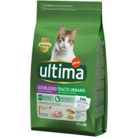 Alimento para gato esterilizado t. urinario ULTIMA, saco 1,5 kg