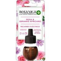 Ambientador eléctrico rosa AIRWICK Botanical, recambio 20 ml