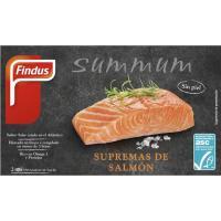 Suprema de salmón ASC FINDUS, caja 200 g