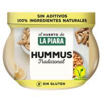 Hummus de garbanzo LA PIARA, frasco 200 g