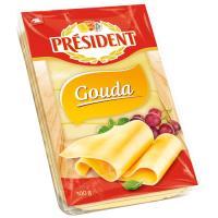 Queso Gouda PRESIDENT, lonchas, bandeja 100 g