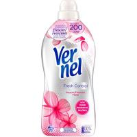 Suavizante fresh control rosa VERNEL, garrafa 70 dosis