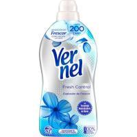 Suavizante fresh control azul VERNEL, garrafa 52 dosis