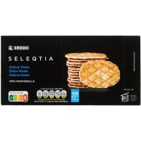 Galletas gofre Eroski SELEQTIA, caja 240 g