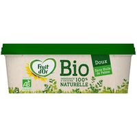 Margarina fruit d'or bio FLORA, tarrina 375 g