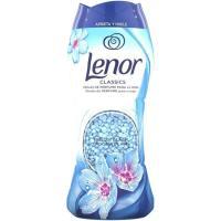 Perlas perfumadas para ropa abril LENOR, botella 210 g