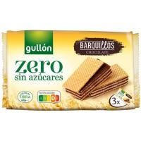 Galleta Wafer de chocolate GULLÓN Diet Nature, paquete 180 g