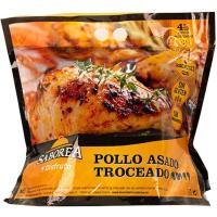 Pollo asado troceado BONCHEF, bolsa aprox. 850 g
