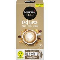 Café oat latte NESCAFÉ Gold, pack 6x16 g