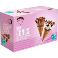 Minicono de nata-chocolate AMARE, caja 260 g