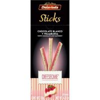 Sticks de cheesecake DELAVIUDA, caja 120 g