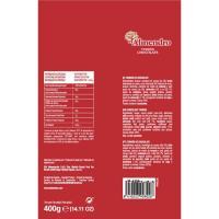 Porciones de chocolate crujiente EL ALMENDRO, bolsa 400 g
