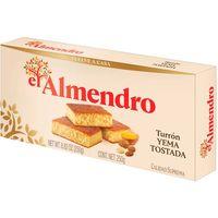 Turrón yema tostada EL ALMENDRO, 250 g