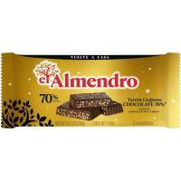 Turrón crujiente 70% EL ALMENDRO, tableta 260 g