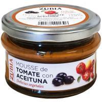 Mousse de tomate con aceituna ZUBIA, frasco 130 g
