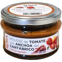Mousse de tomate con anchoa ZUBIA, frasco 130 g