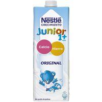Leche de crecimiento Junior 1+ original NESTLÉ, brik 1 litro