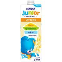 Leche de crecimiento junior 2+ cereales NESTLÉ, brik 1 litro