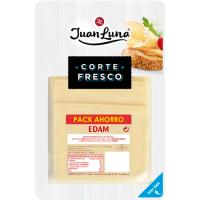 Queso Edam JUAN LUNA, lonchas, bandeja 300 g
