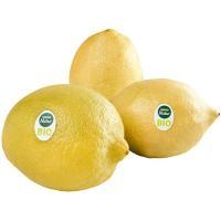 Limón ecológico EROSKI Natur BIO, al peso, compra mínima 1 kg