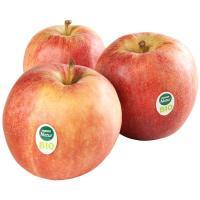 Manzana roja ecológica EROSKI Natur BIO, al peso, compra mínima 1 kg