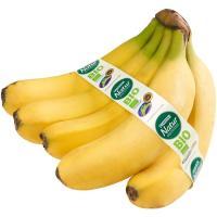 Plátano de Canarias eco EROSKI Natur BIO, al peso, compra mínima 1 kg